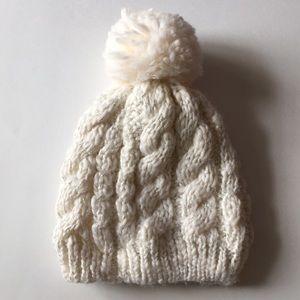 Other - Infant knit tassel winter hat